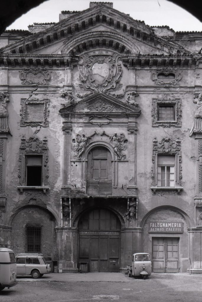 Before the restoration